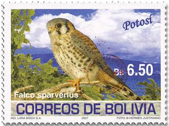 n° 1619 - Timbre BOLIVIE Poste