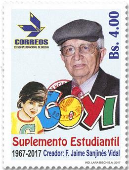 n° 1642 - Timbre BOLIVIE Poste