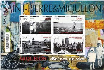 n° F1235 - Timbre Saint-Pierre et Miquelon Poste