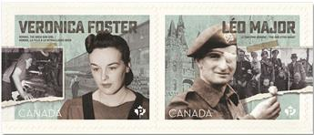 n° 3687/3688 - Timbre CANADA Poste