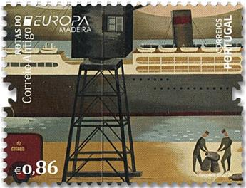 n° 405/406 - Timbre MADERE Poste