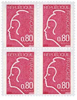 n° 1862B -  Timbre France Poste (en bloc de 4)