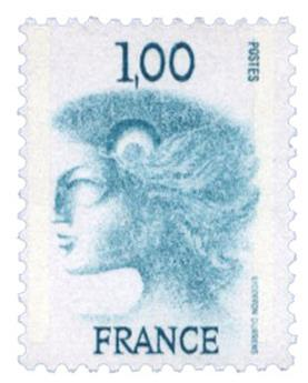 n°1895C : Timbre France Poste