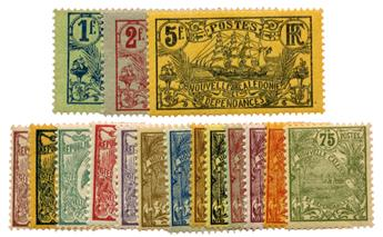 n°89/104** - Timbre NOUVELLE CALEDONIE Poste