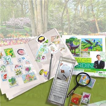 """Kit """"Junior"""" (avec Classeur Perfecta Vert - Voyage au pays des Jardins S.Bern)"""