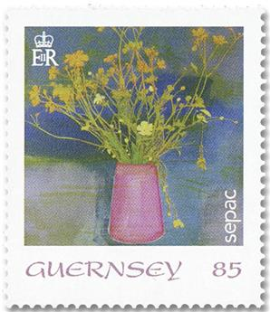 n° 1802/1806 + n°  1801 - Timbre GUERNESEY Poste