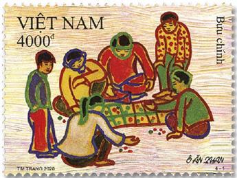 n° 2612/2615 - Timbre VIETNAM Poste