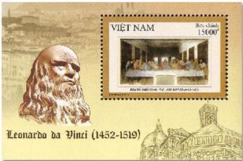 n° 166 - Timbre VIETNAM Blocs et feuillets