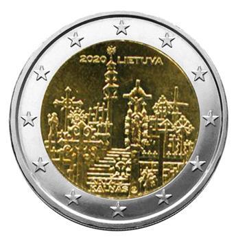2 EURO COMMEMORATIVE 2020 : LITUANIE (Colline des croix)