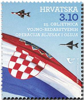 n° 1364 - Timbre CROATIE Poste