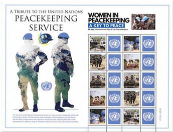 n° F1691 - Timbre ONU NEW YORK Poste