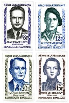 nr. 1157/1160 -  Stamp France Mail