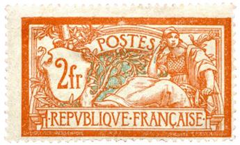 n°145* - Timbre FRANCE Poste
