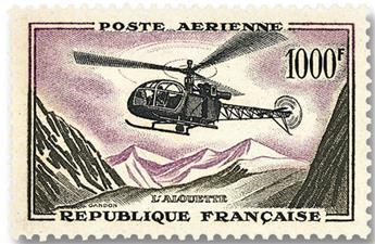 n.o 37 -  Sello Francia Correo aéreo