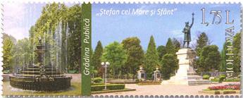 n° 994/997 - Timbre MOLDAVIE Poste