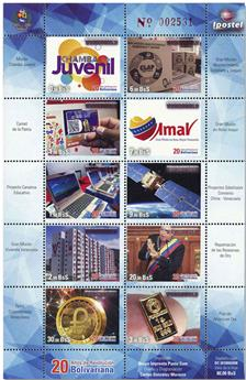 n° 3122/3131 - Timbre VENEZUELA Poste