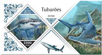 n° 1451 - Timbre GUINEE-BISSAU Blocs et feuillets