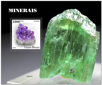 n° 1610 - Timbre GUINEE-BISSAU Blocs et feuillets