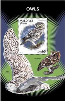 n° 1277 - Timbre MALDIVES Blocs et feuillets