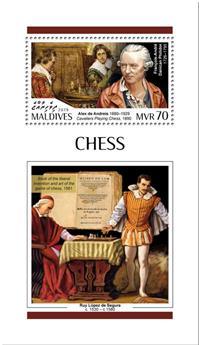 n° 1287 - Timbre MALDIVES Blocs et feuillets