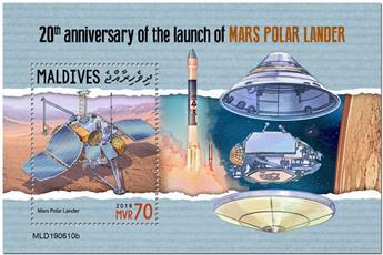 n° 1362 - Timbre MALDIVES Blocs et feuillets