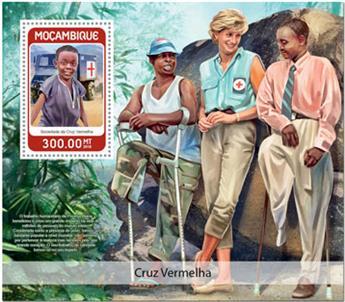 n° 1286 - Timbre MOZAMBIQUE Blocs et feuillets