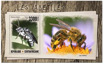 n° 1526 - Timbre CENTRAFRICAINE Blocs et feuillets