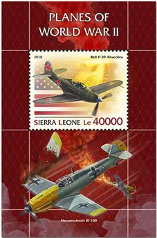 n° 1537 - Timbre SIERRA LEONE Blocs et feuillets
