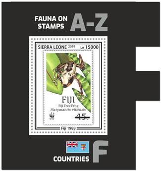 n° 1799 - Timbre SIERRA LEONE Blocs et feuillets