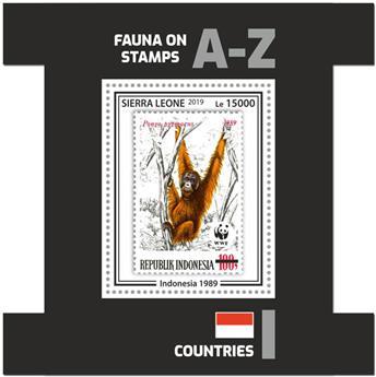 n° 1809 - Timbre SIERRA LEONE Blocs et feuillets