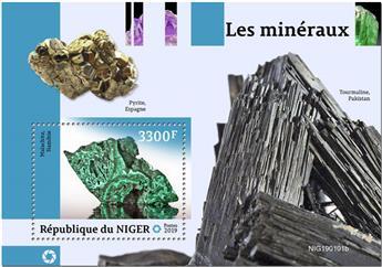 n° 982 - Timbre NIGER Blocs et feuillets