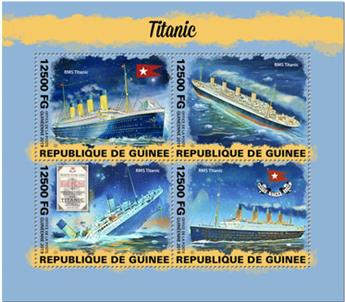 n° 10061/10064 - Timbre GUINEE Poste
