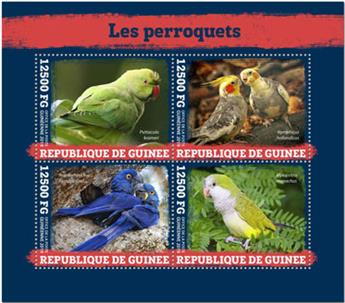 n° 10081/10084 - Timbre GUINEE Poste