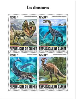 n° 10143/10146 - Timbre GUINEE Poste