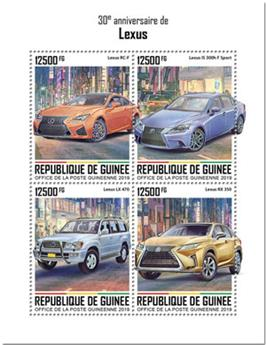 n° 10183/10186 - Timbre GUINEE Poste
