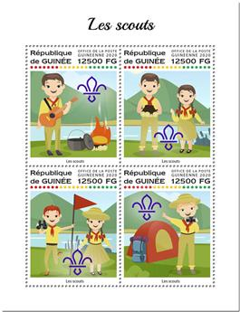 n° 10255/10258 - Timbre GUINEE Poste