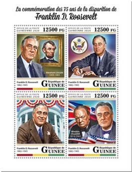n° 10335/10338 - Timbre GUINEE Poste