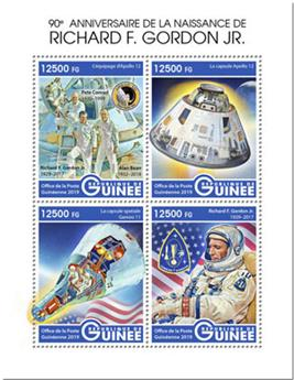 n° 9969/9972 - Timbre GUINEE Poste