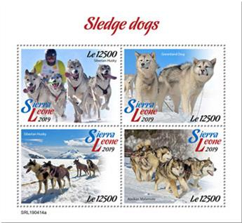 n° 8900/8903 - Timbre SIERRA LEONE Poste