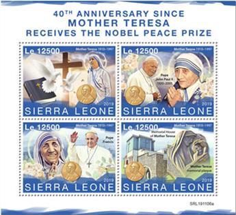 n° 9442/9445 - Timbre SIERRA LEONE Poste