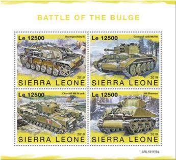 n° 9482/9485 - Timbre SIERRA LEONE Poste