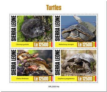 n° 9820/9823 - Timbre SIERRA LEONE Poste