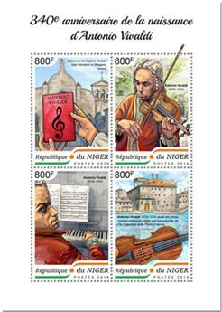 n° 4797/4800 - Timbre NIGER Poste