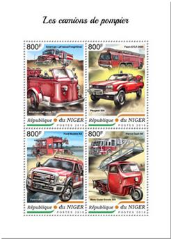 n° 4817/4820 - Timbre NIGER Poste