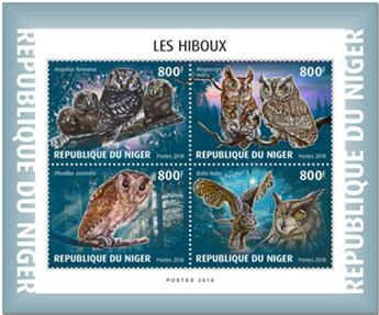 n° 4982/4985 - Timbre NIGER Poste