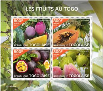 n° 7434/7437 - Timbre TOGO Poste