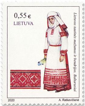 n° 1156 - Timbre LITUANIE Poste