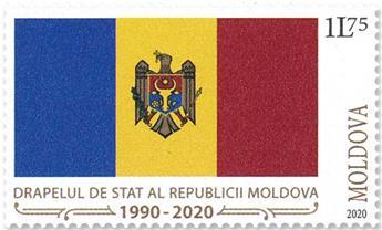 n° 1003/1004 - Timbre MOLDAVIE Poste