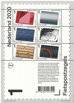 n° F3873 - Timbre PAYS-BAS Poste