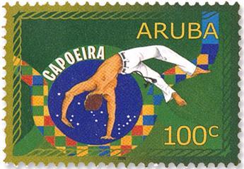 n° 1099/1102 - Timbre ARUBA Poste